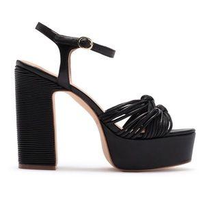 ✨ Rachel Zoe Avery Nappa Platform Sandal ✨